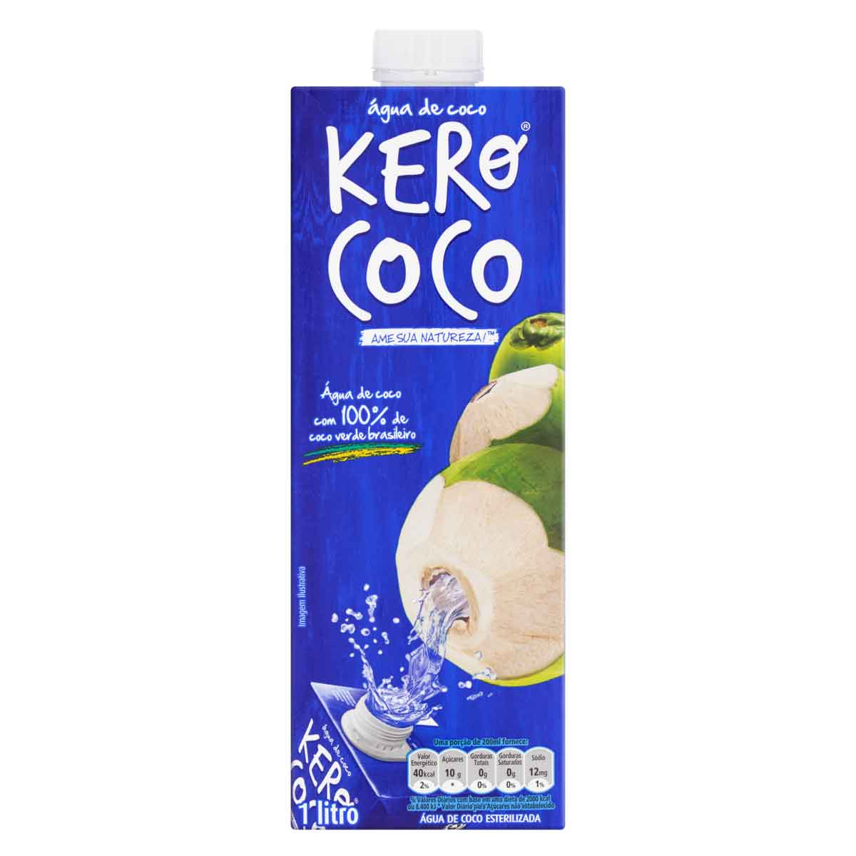 AGUA DE COCO KEROCOCO 1X1LT (12)