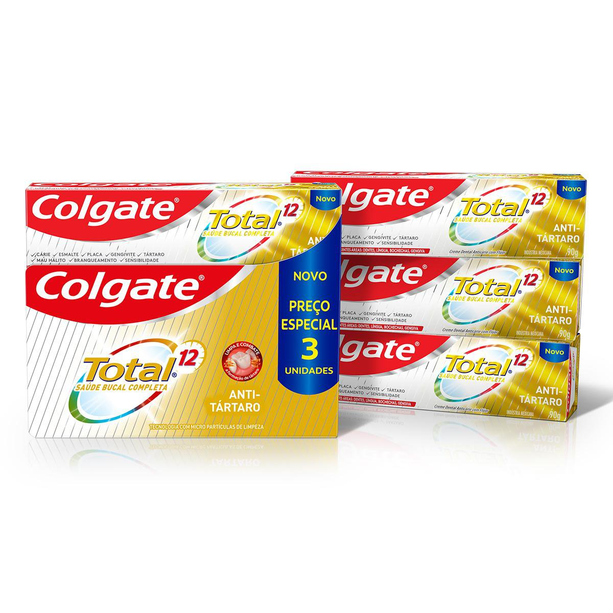 CR DENT COLG TO12 PACK ANTITARTA 90G(16)