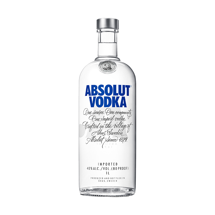 VODKA ABSOLUT 1X1000ML (12)