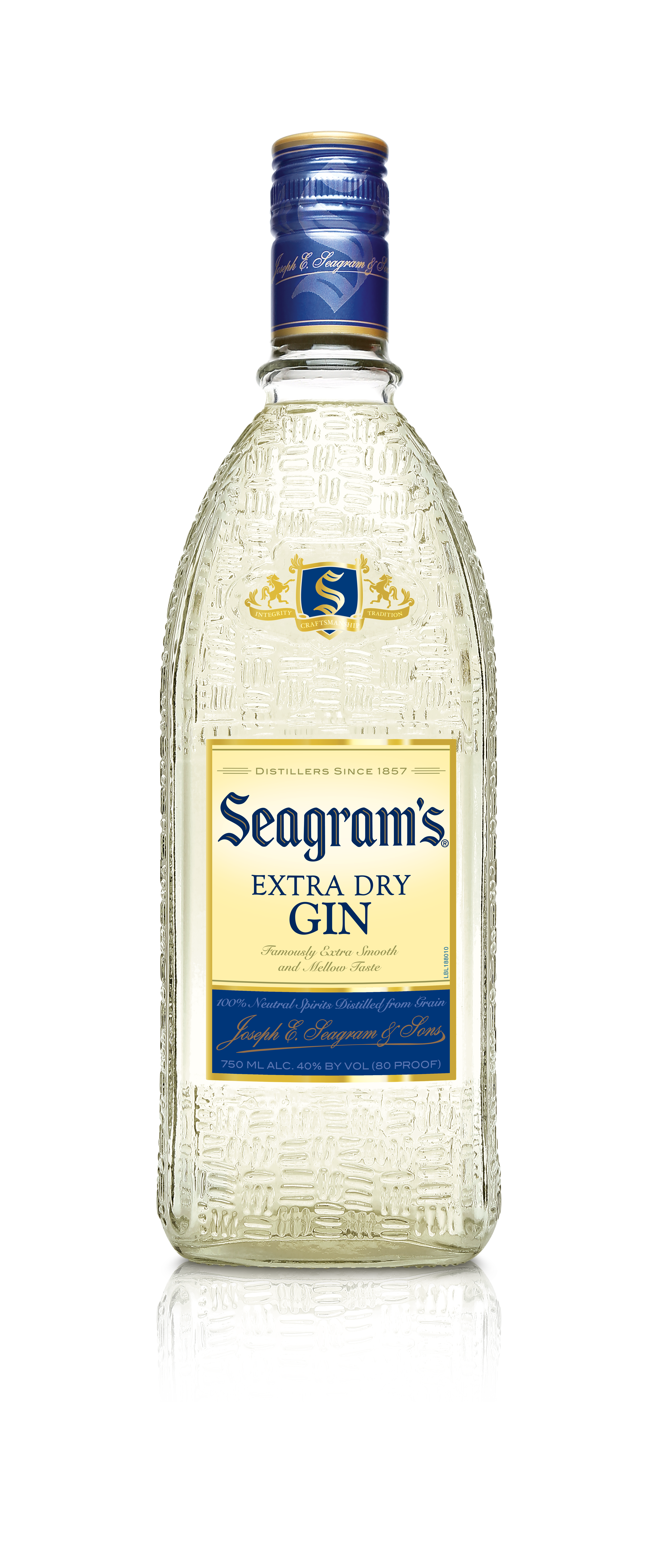 GIN SEAGRAMS EXTRA DRY 1X750ML (12)