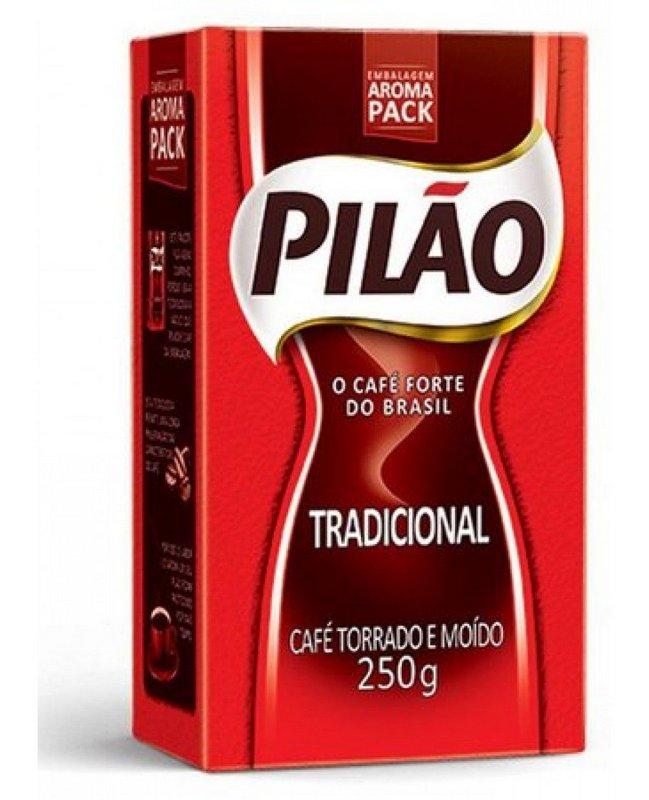 CAFE TORRADO E MOIDO PILAO VC 1X250G(20)