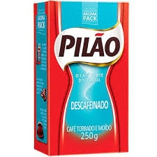 CAFE PILAO DESCAFEINADO VACUO 1X250G(20)