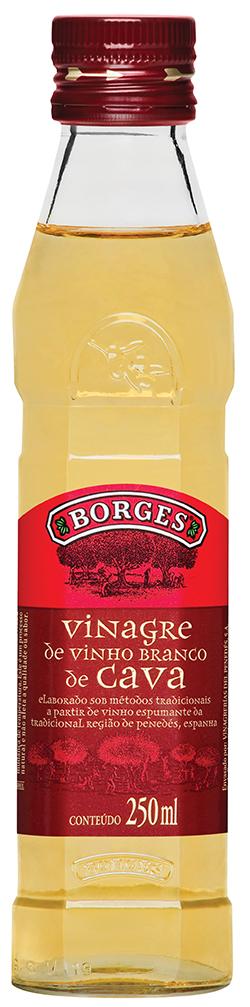 VINAGRE BORGES VINHO BRANCO 1X250ML(12)
