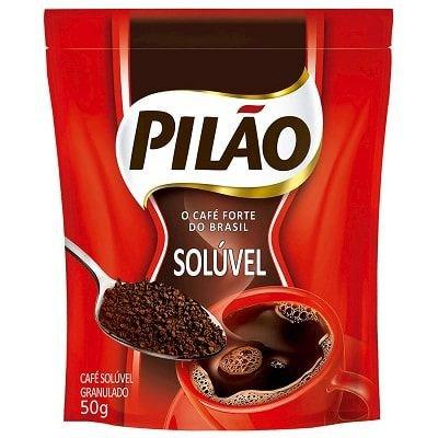 CAFE TRAD SOLUVEL SACHE PILÃO 1X50G(24)