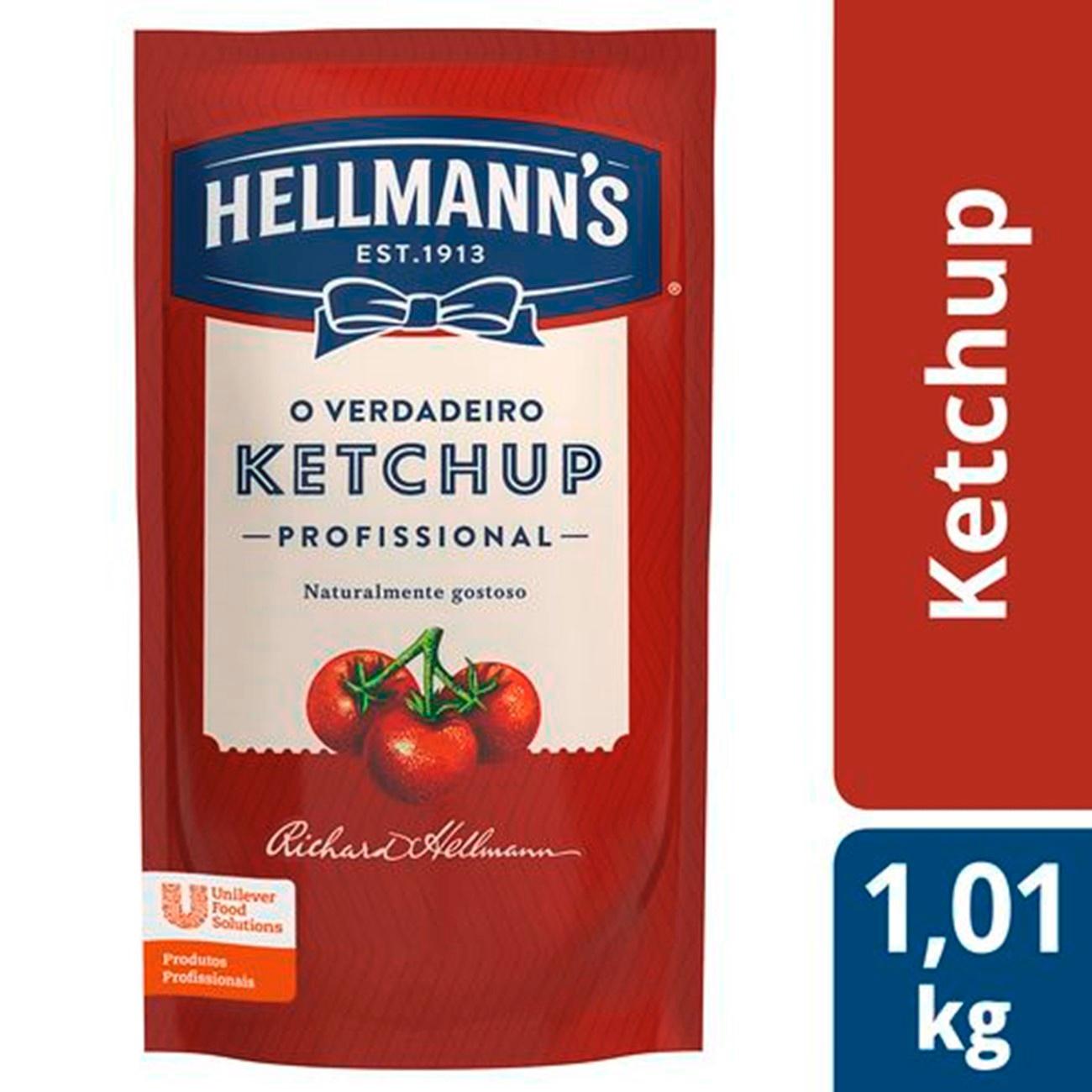 HELLMANS KETCHUP PROF SACHE 1X1,1KG (12)