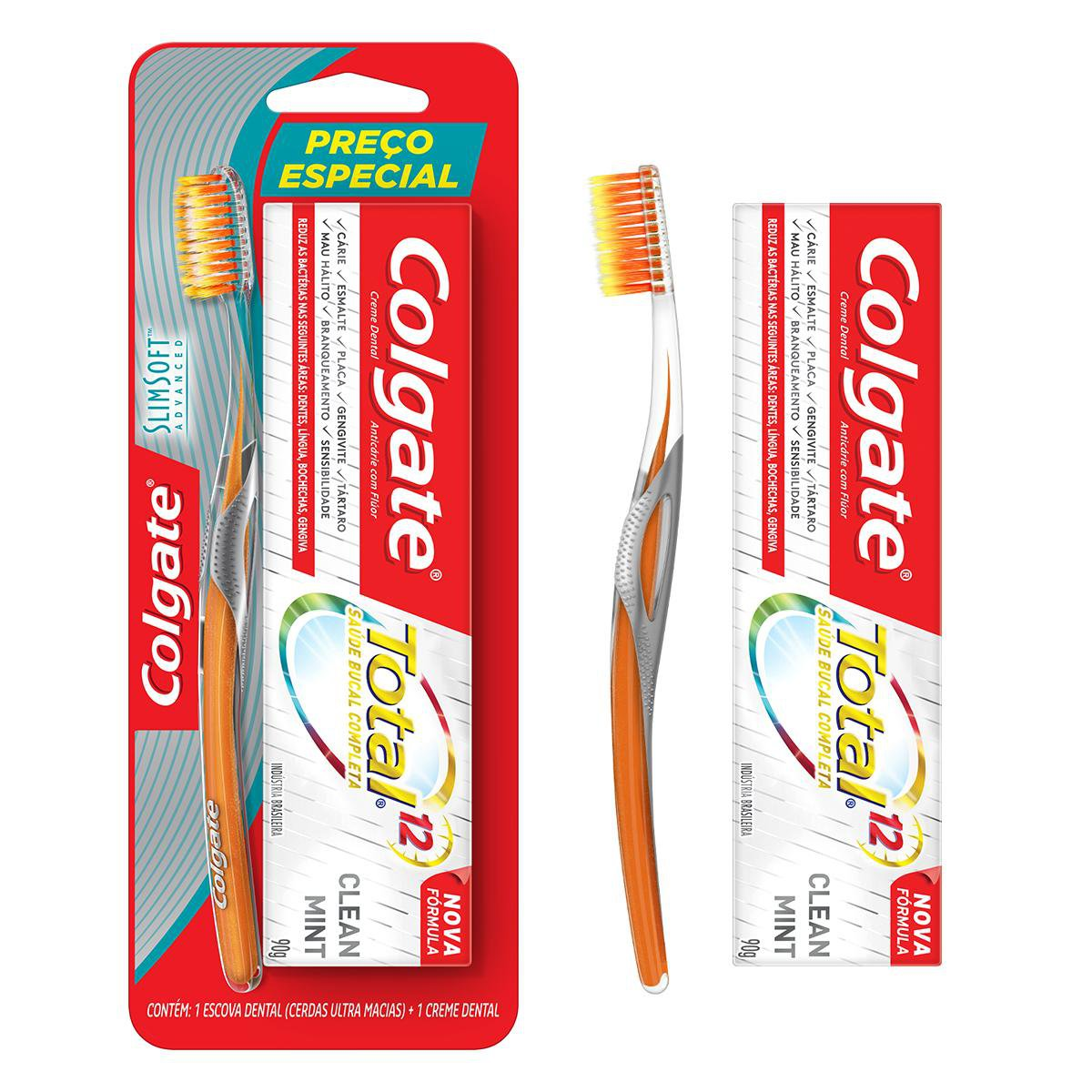 ESC COLGATE SLIM SOFT ADVA+ CD 1X 90G(12