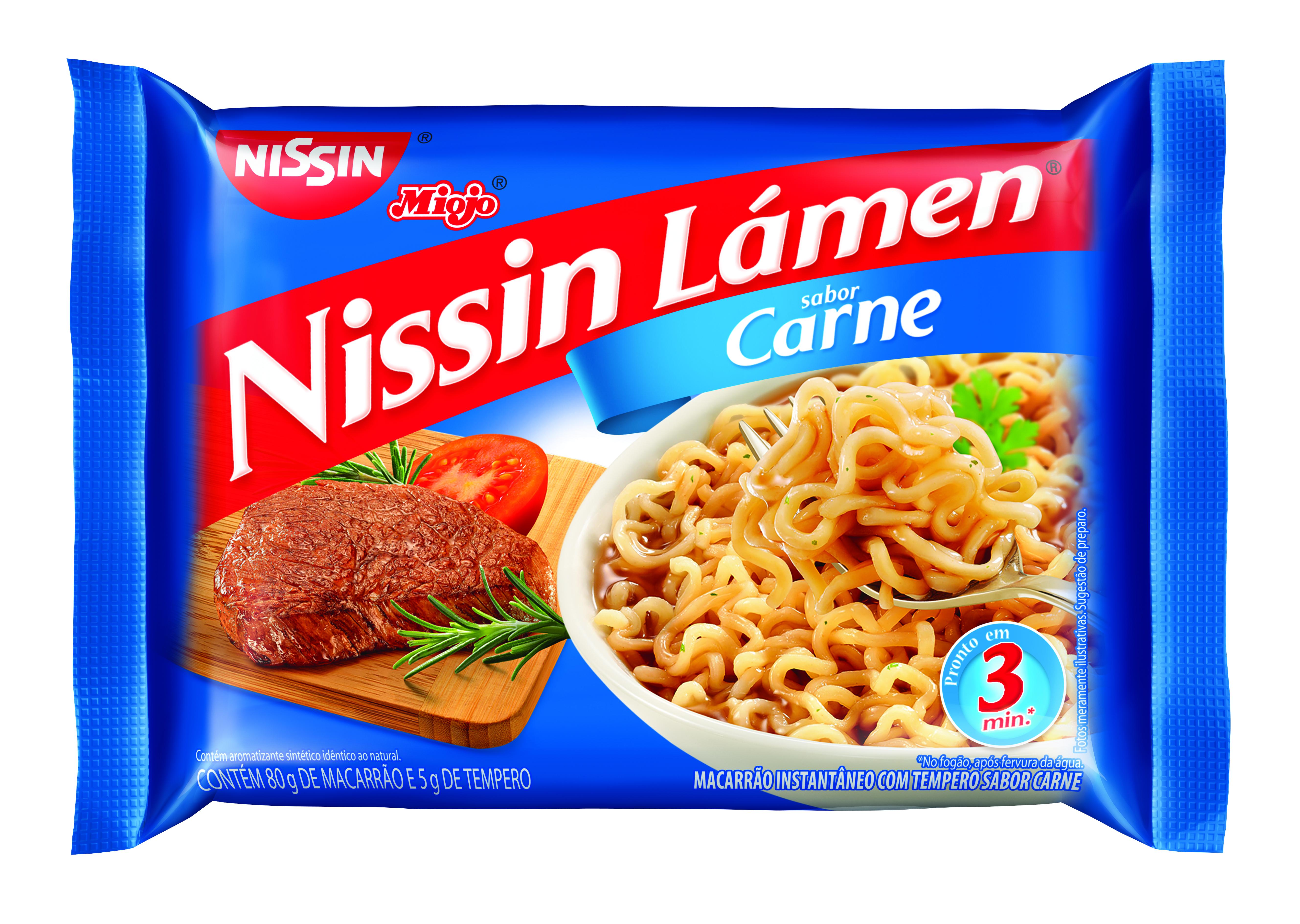 NISSIN LAMEN CARNE 1X85G (50)