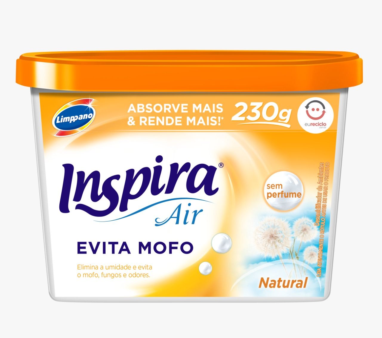 EVITA MOFO INSPIRA NATURAL 1X230GR(12)