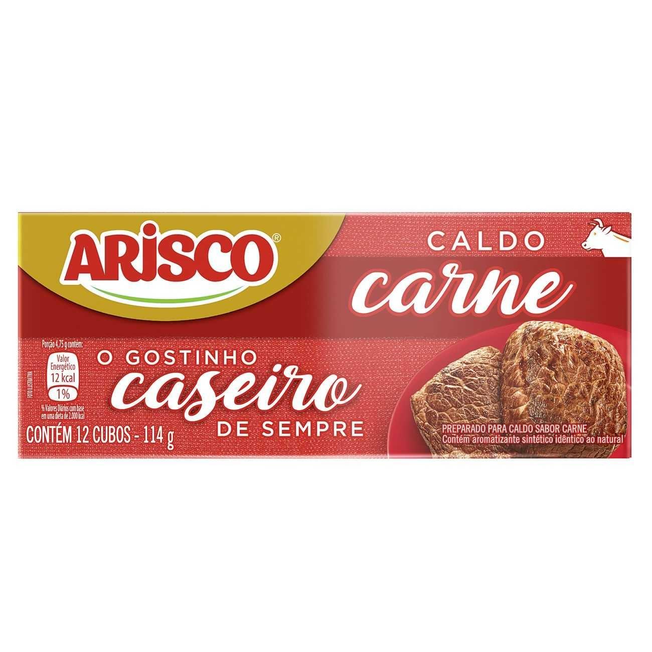 CART CALDO ARISCO CARNE 1X114G (80)