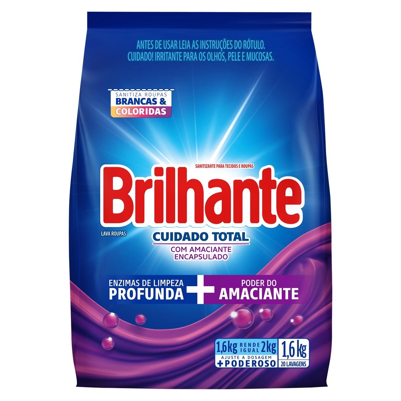 BRILHANTE PO CUID TOT C/ AMAC BAG 1.6K(7