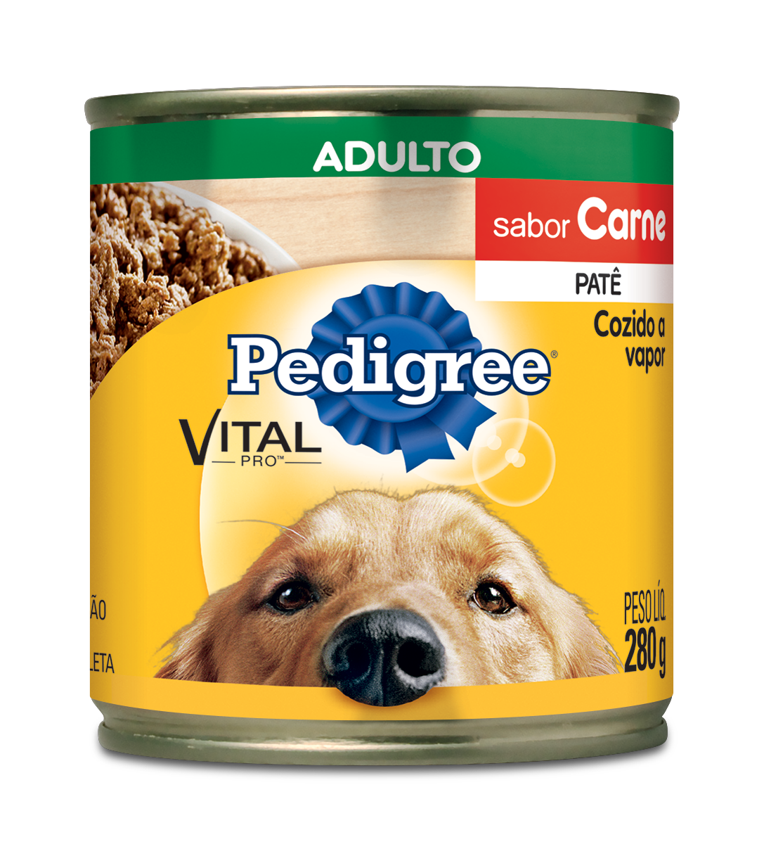 PEDIGREE LATA ADULTO CARNE PT1X280G (24)