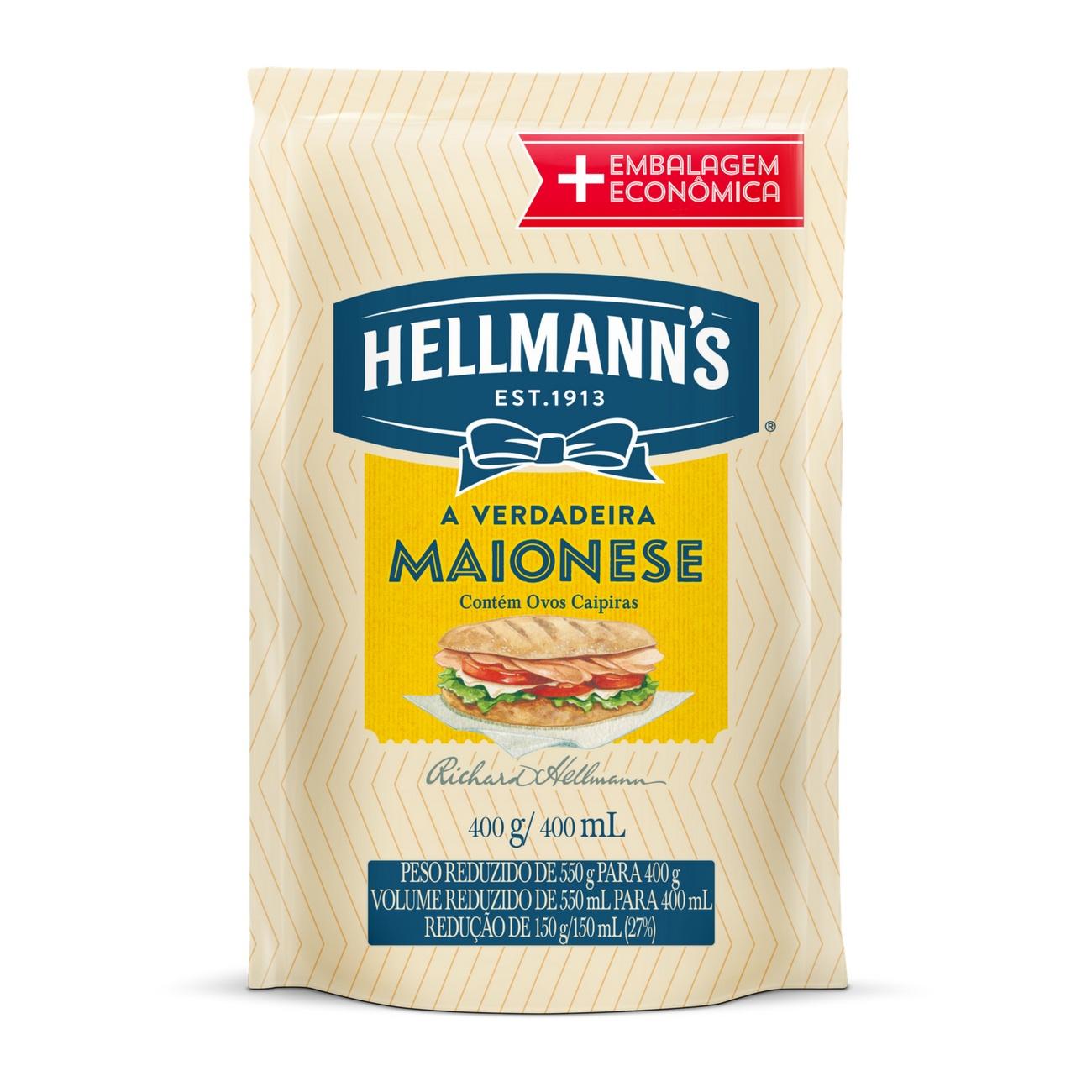 HELLMANNS MAIO DOY PACK 1X400G (12)