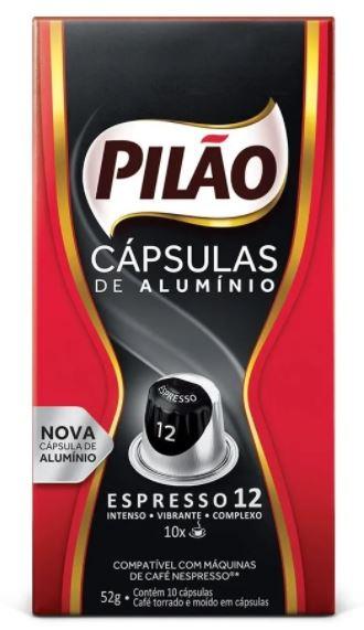 CAPSULAS CAFE PILAO FORTE  10X52G(10)