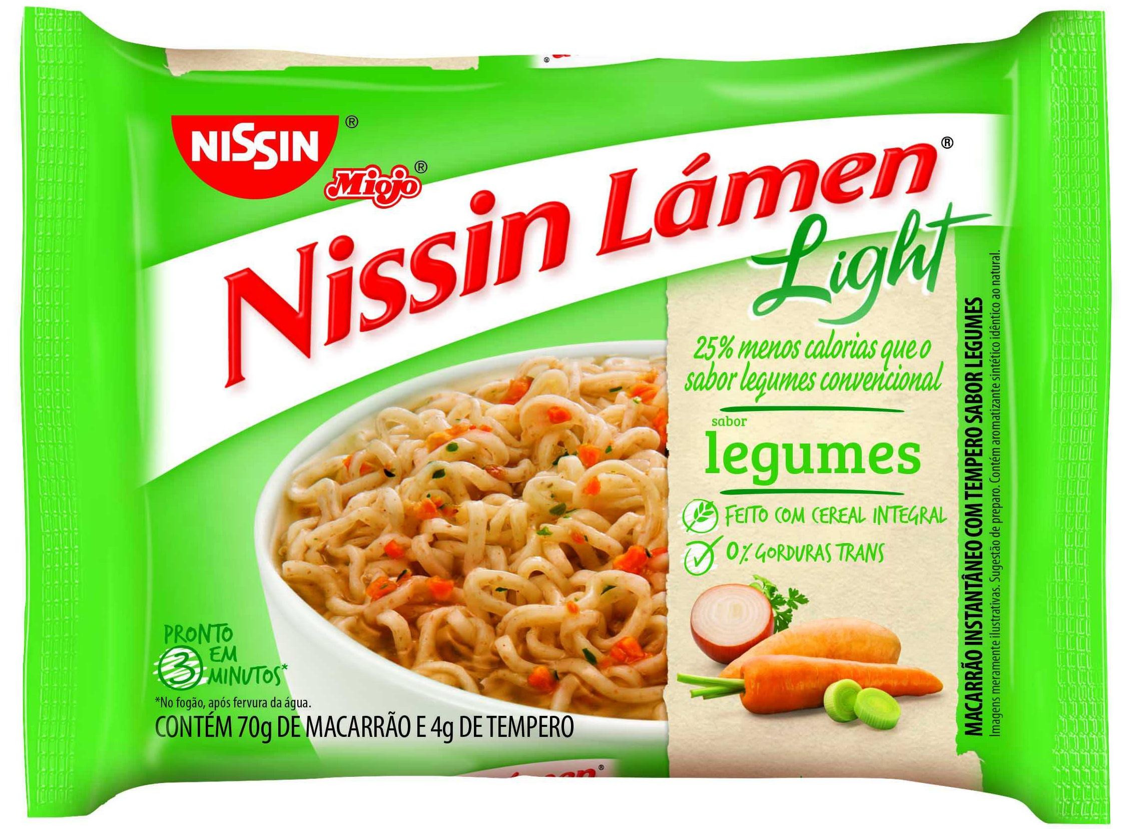 NISSIN LAMEN LIGHT LEGUMES 1X74G (50)