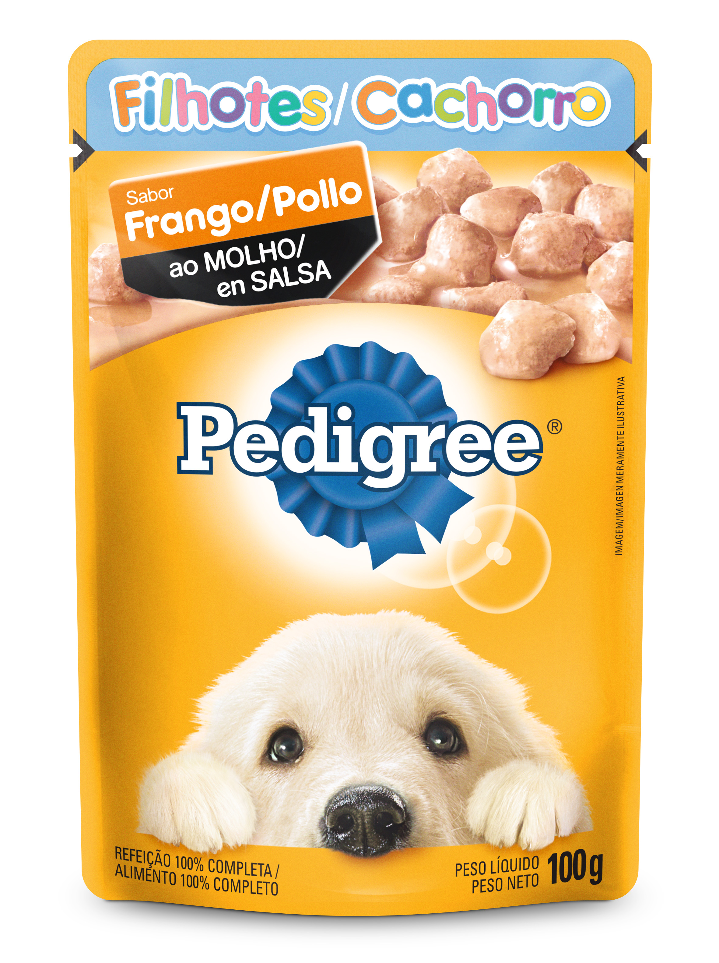 PEDIGREE SACHE FILHOTE FRANGO1X100G (36)