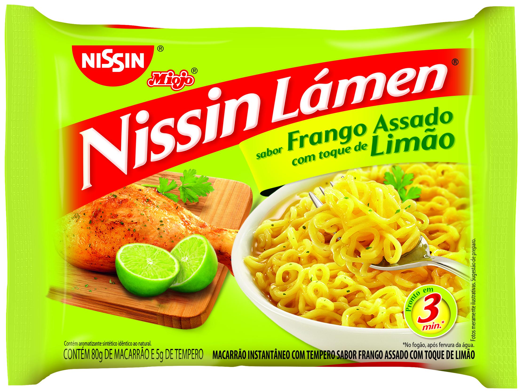 NISSIN LAMEN FRANGO ASS T LIMÃO1X85(50)