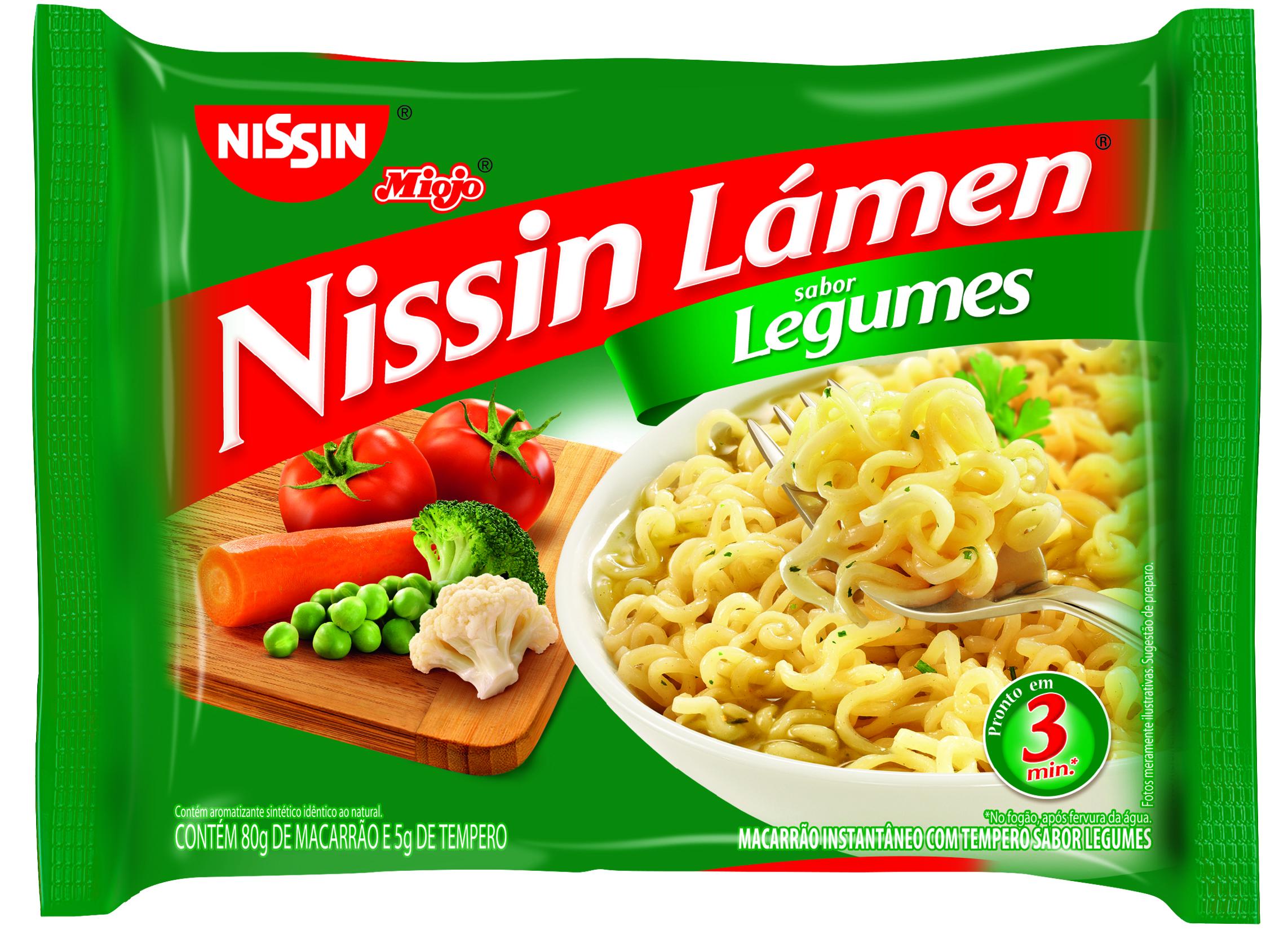 NISSIN LAMEN LEGUMES 1X85G (50)
