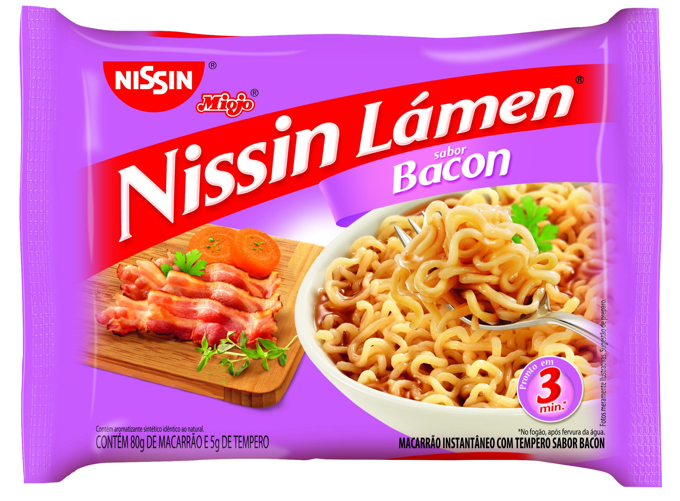 NISSIN LAMEN BACON 1X85G (50)