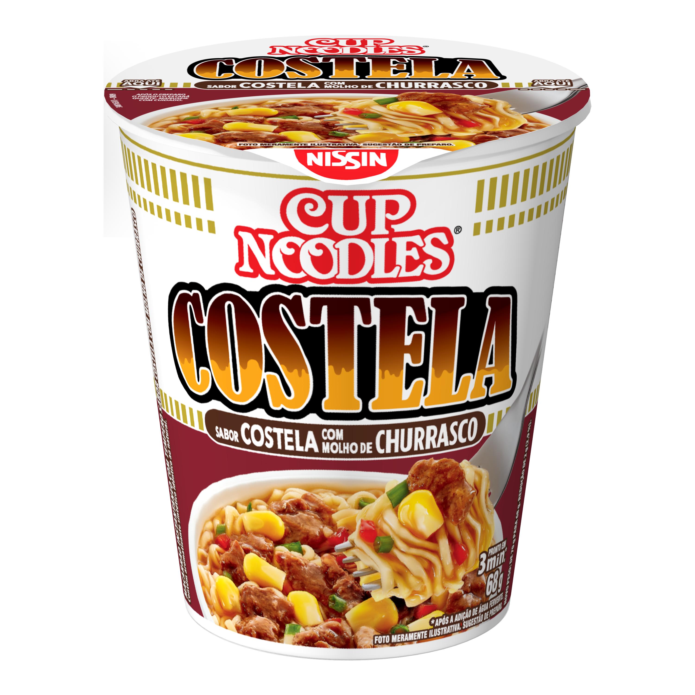 NISSIN CUP NOODLES COSTELA CHUR1X68G(24)
