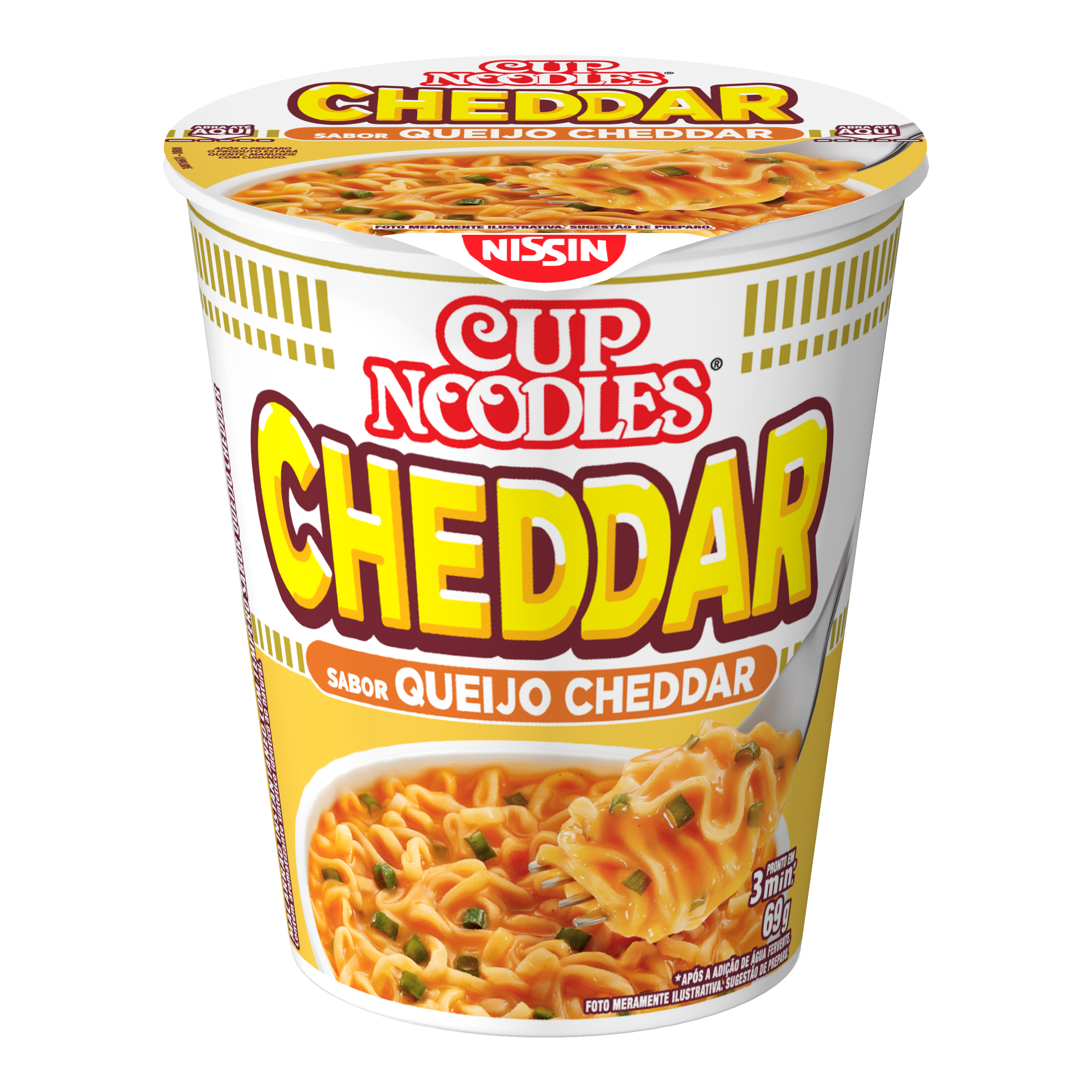 NISSIN CUP NOODLES CHEDDAR 1X69G (24)