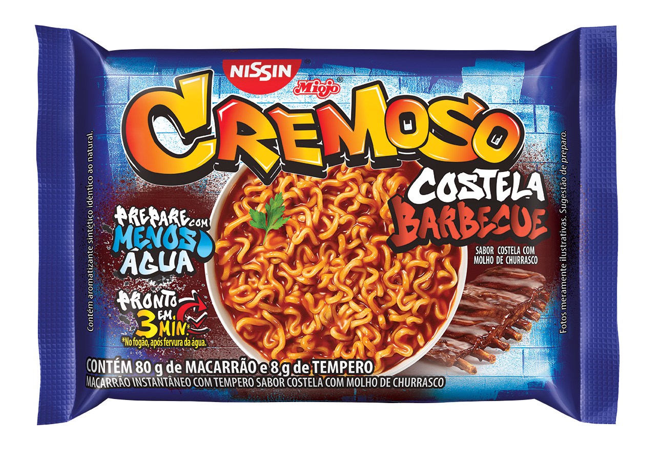 NISSIN LM CREM COSTELA BARBECUE1X88G(50