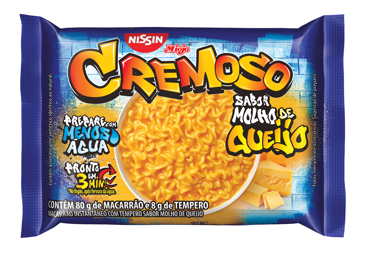NISSIN LM CREMOS MOLHO DE QUEIJO1X88G(50
