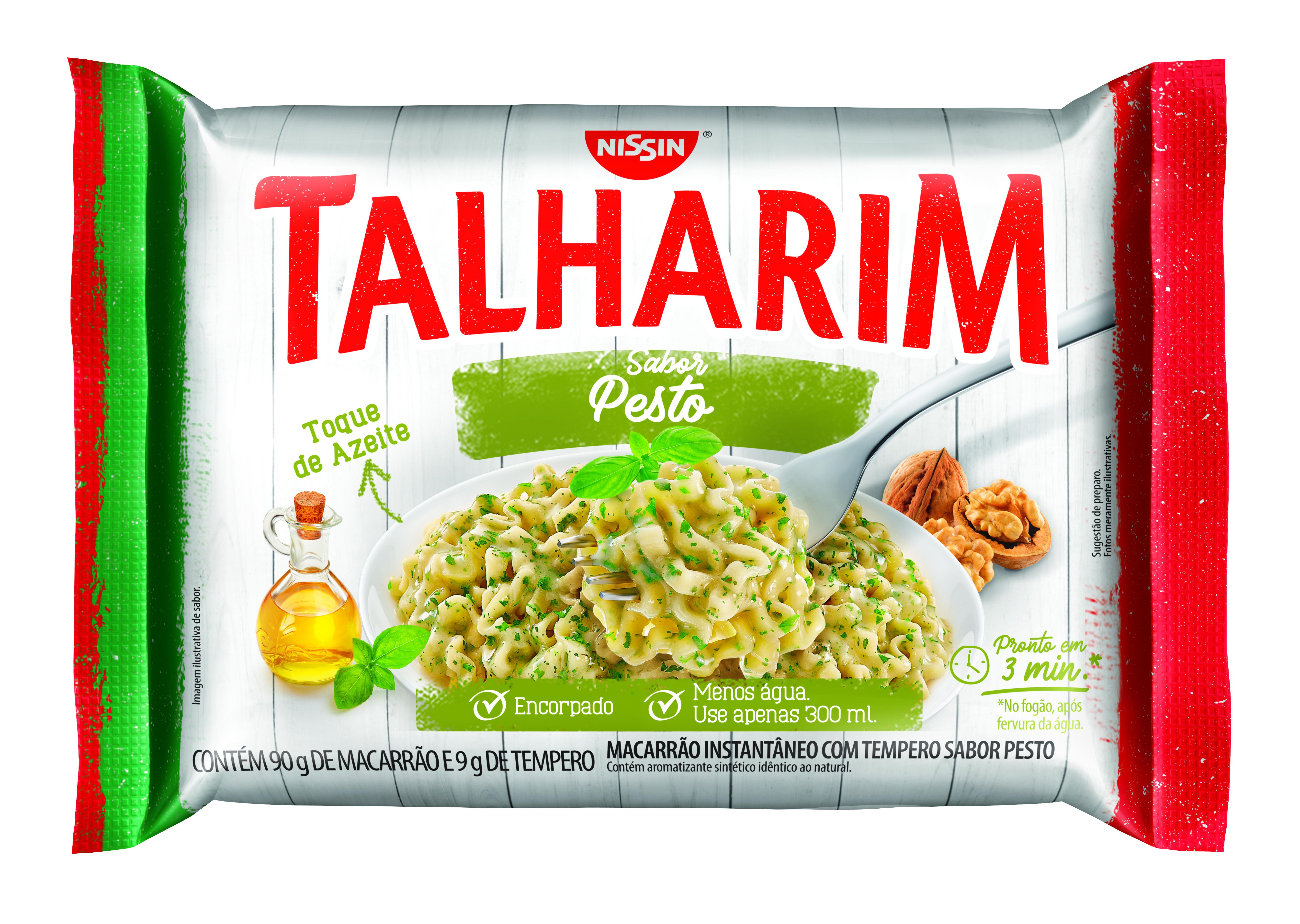 NISSIN TALHARIM SABOR PESTO 99GR(50)