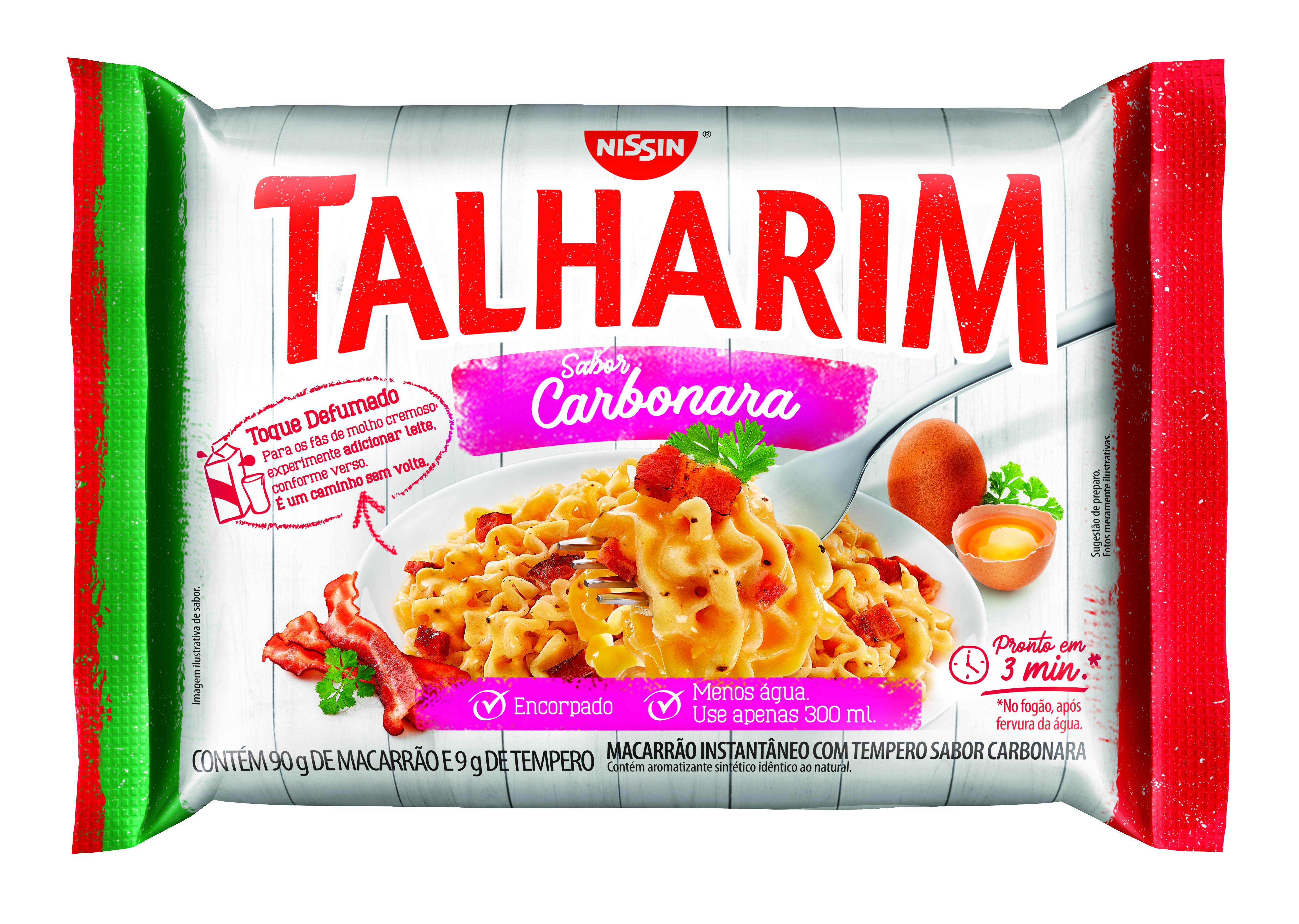 NISSIN TALHARIM SABOR CARBONARA 99GR(50)