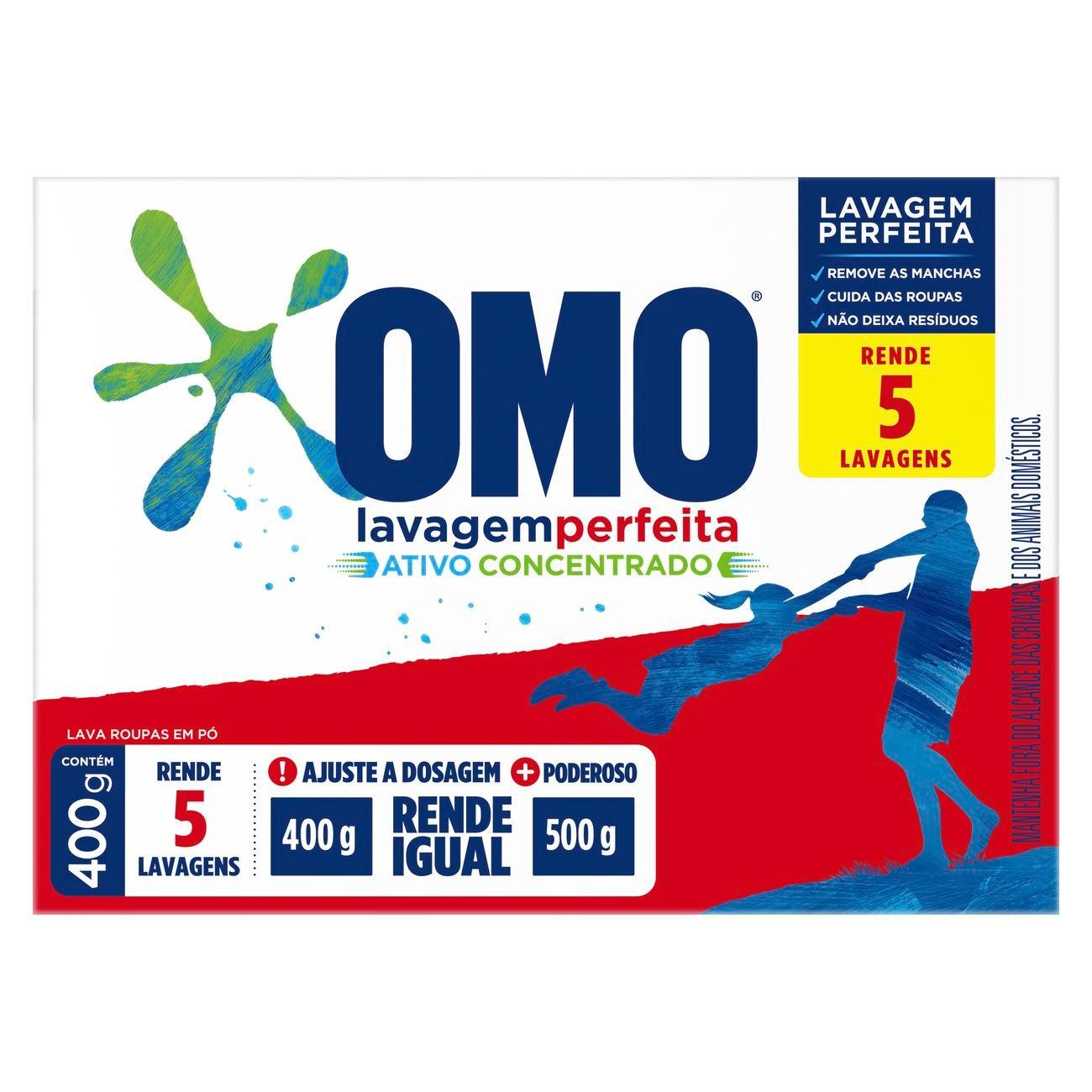 OMO PO LAVA PERFEITA1X400GR(24)