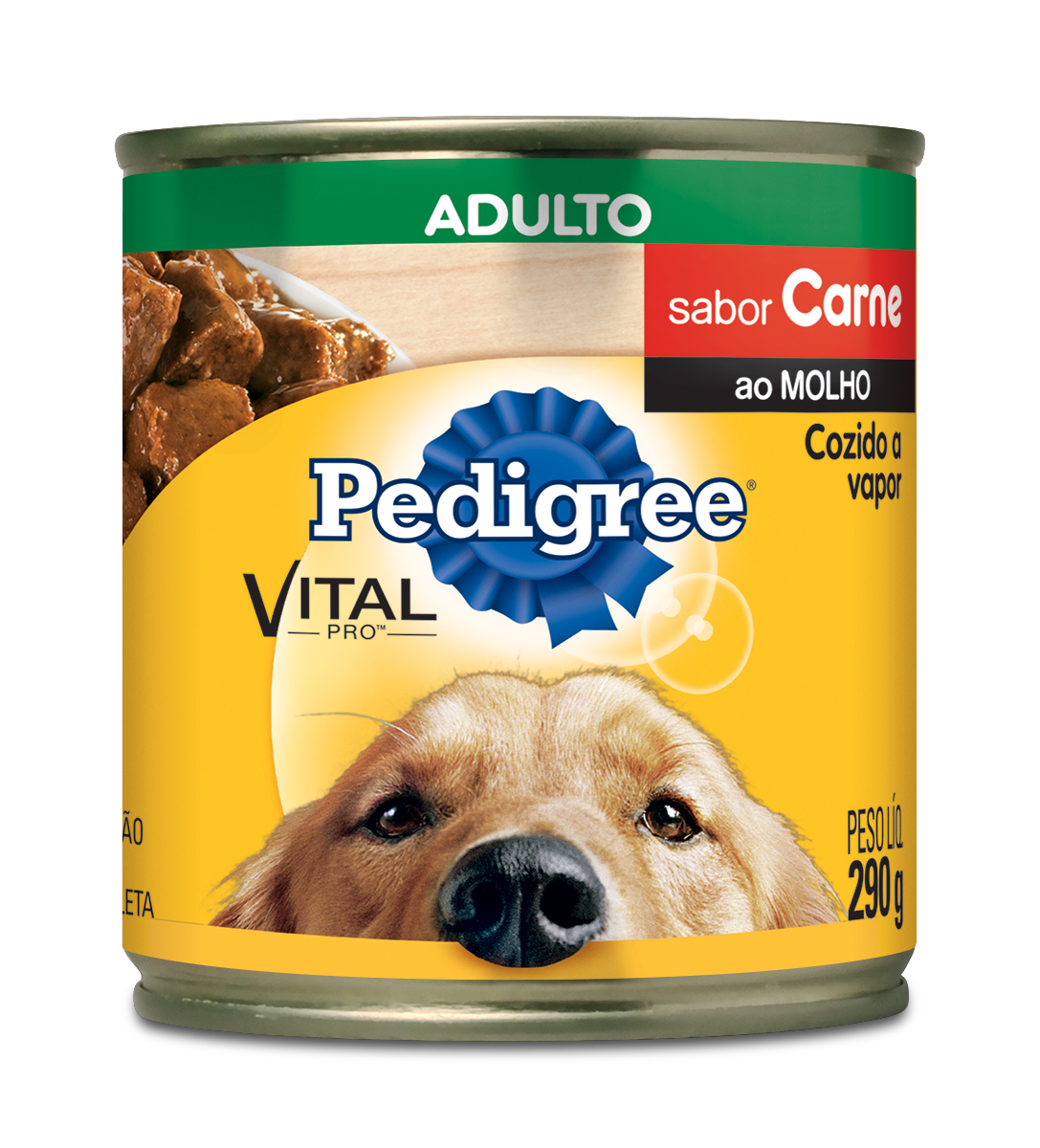 PEDIGREE LATA ADULTO CARNE AM1X290G (24)