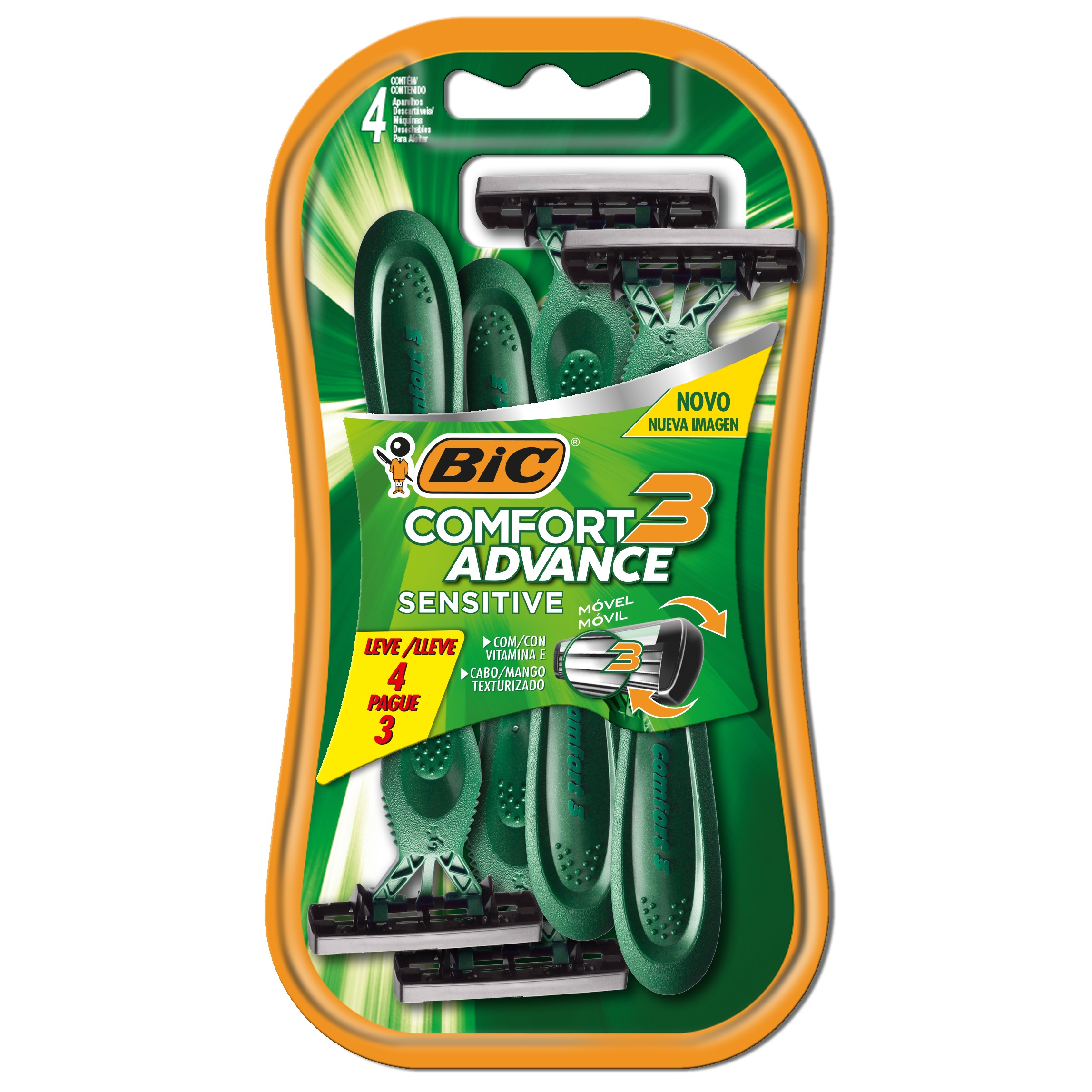 AP DE BAR COMF3 SENSITIVE  L4P3(72)