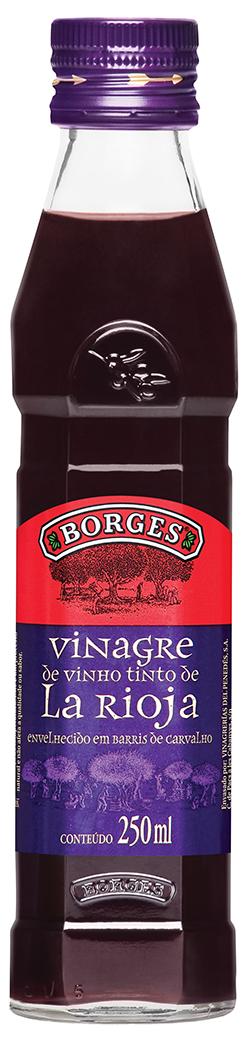 VINAGRE BORGES VINHO TINTO 1X250ML(12)