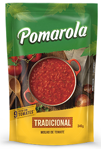 POMAROLA TRADICIONAL POUCH 1X340G (24)