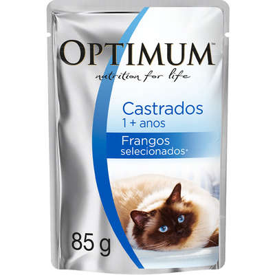 OPTIMUM CAT SCH AD CAST FRANGO 1X85G(40)