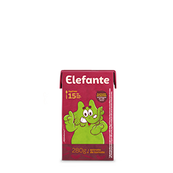 ELEFANTE EXTRATO TOMATE TB 1X280G(27)