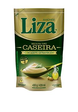 MAIONESE LIZA CASEIRA AZEITE 1X430G (12)
