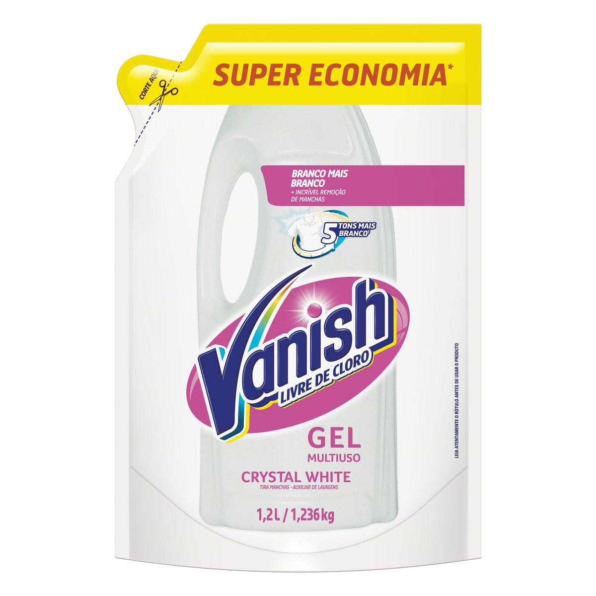 VANISH ALVEJ GEL SUP ECON WHITE 1X1,2L(6